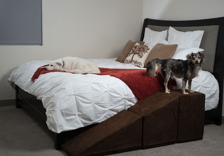 Dog Ramp For Bed >> Puppy Stairs: Dog Ramps & Dog Stairs for Sale
